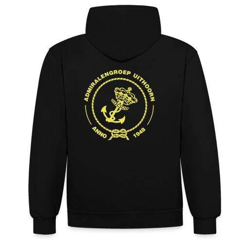 Ik willem! - Contrast hoodie
