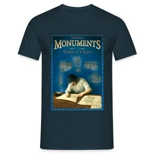 T-Shirt - Monuments Cover - Männer T-Shirt