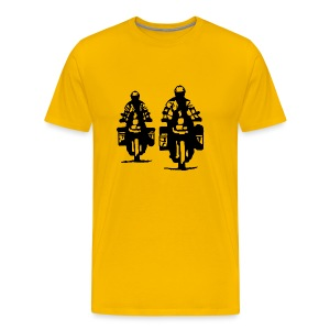 Just riding... - Unisex - Männer Premium T-Shirt