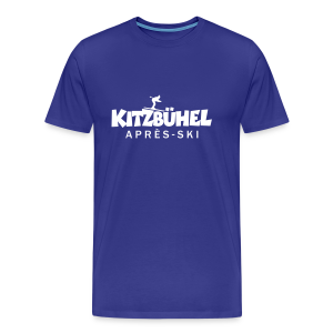 Kitzbühel Après-Ski T-Shirt (Herren Blau) - Männer Premium T-Shirt