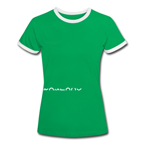 Rostock - Frauen Kontrast-T-Shirt