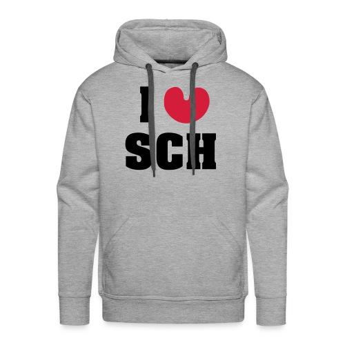 I love SCH - Mannen Premium hoodie