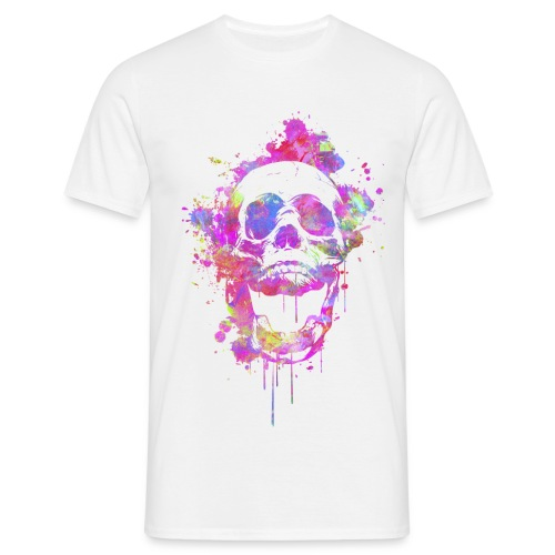 Abstract Skull #1 - Men's T-Shirt
