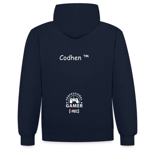 Sweat Codhen™ - Sweat-shirt contraste