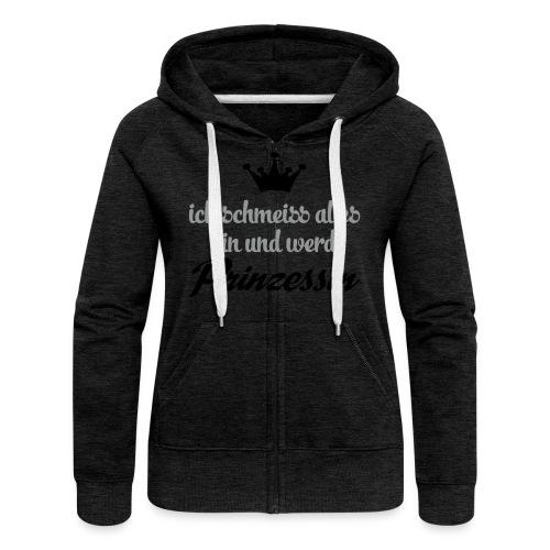 Kapuzenpulli/ Hoodie für Frauen - Frauen Premium Kapuzenjacke