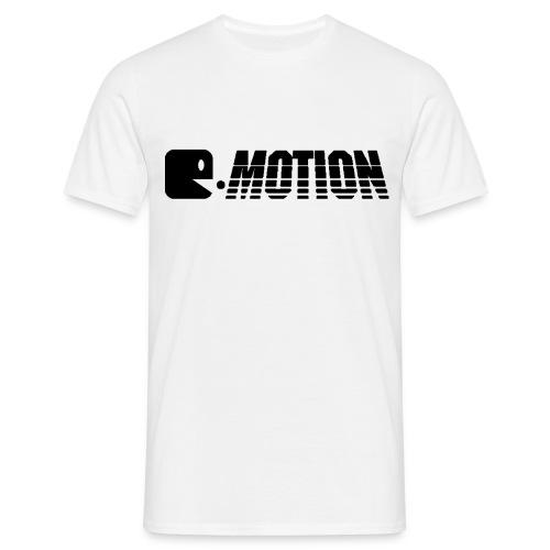 E-Motion T-Shirt Logo Black - Männer T-Shirt