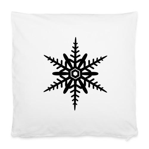 Schneeflocken-Bezug - Kissenbezug 40 x 40 cm