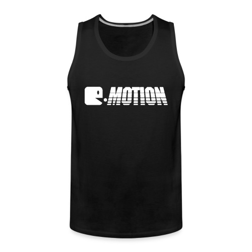 E-Motion Tanktop Men Logo White - Männer Premium Tank Top