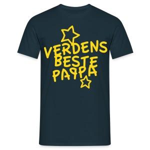 Verdens beste pappa - T-skjorte for menn