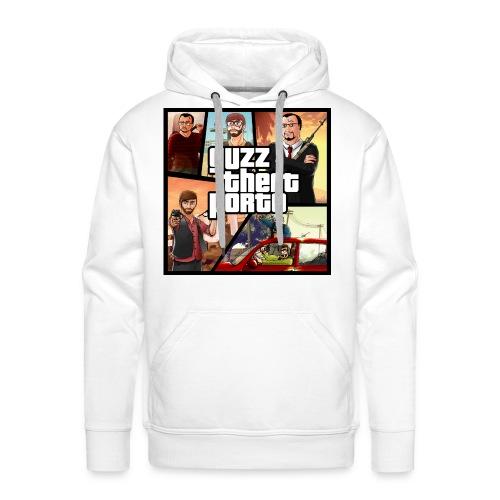 Sweat Premium Guzz theft porto - Sweat-shirt à capuche Premium pour hommes
