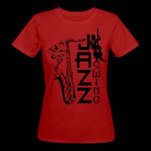 SWING JAZZ - Frauen Bio-T-Shirt