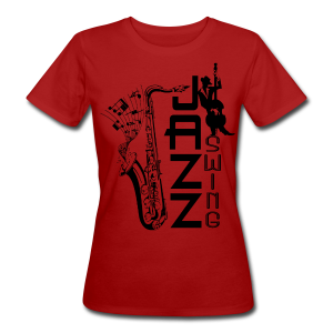 SWING JAZZ - Frauen Bio-T-Shirt