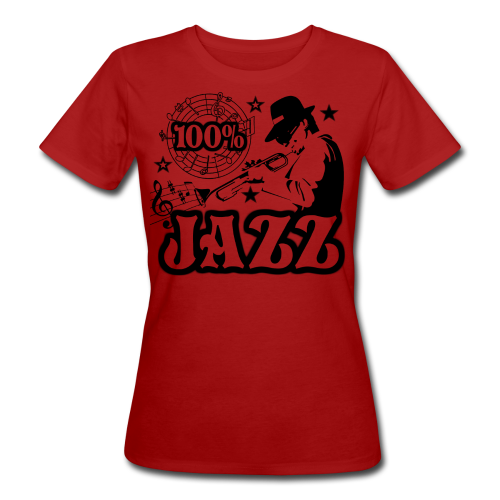 100% JAZZ - Frauen Bio-T-Shirt