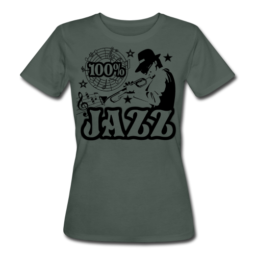 100% JAZZ - Frauen Bio-T-Shirt