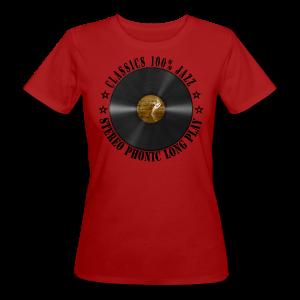 CLASSICS 100% JAZZ - Frauen Bio-T-Shirt
