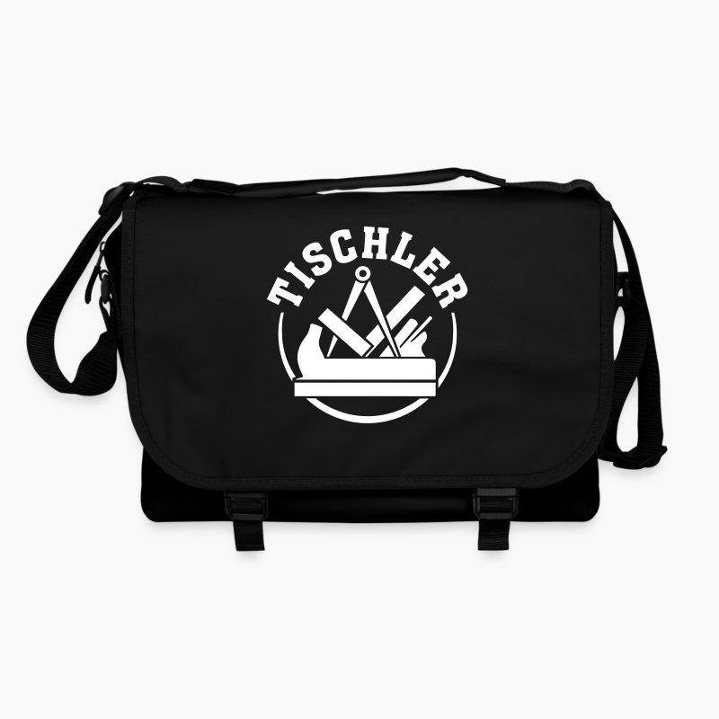 tischler schreiner zunftzeichen enblem logo wappen tasche spreadshirt. Black Bedroom Furniture Sets. Home Design Ideas