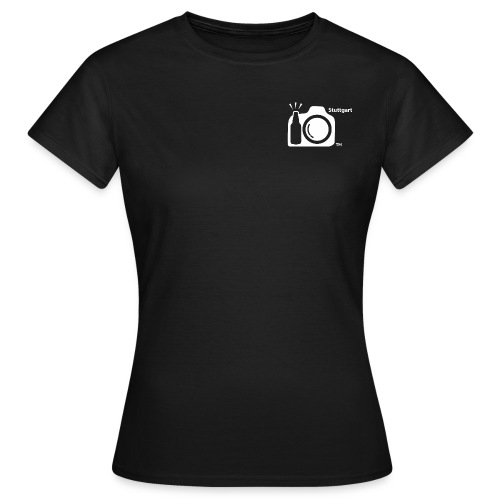 Mens ISO Thirsty on back. LOGO on front. - Women's T-Shirt