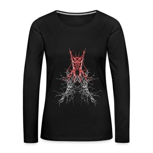 dark art 14 - Frauen Premium Langarmshirt