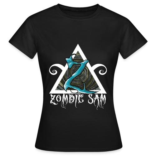 Zombie Sam Blue - Women's T-Shirt
