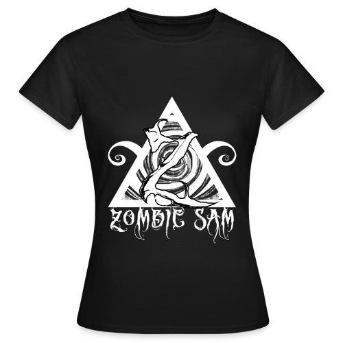 Zombie Sam White - Women's T-Shirt