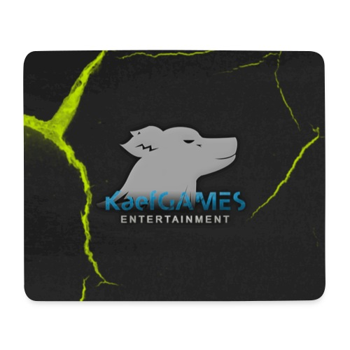 KaefGAMES - Mousepad (Green) - Mousepad (Querformat)