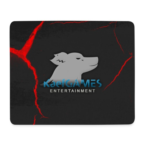 KaefGAMES - Mousepad (Red) - Mousepad (Querformat)