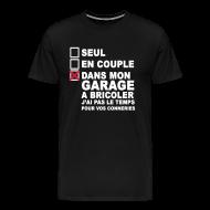 Tee shirts ~ T-shirt Premium Homme ~ Dans le garage.