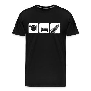 Manger, rouler - T-shirt Premium Homme
