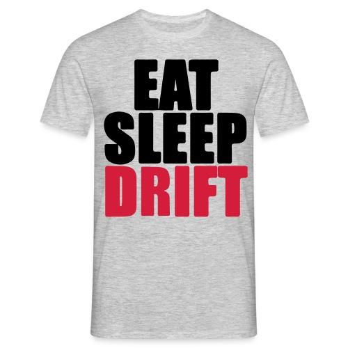 Eat, sleep, drift - T-shirt Homme