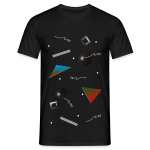 BTI 'Geoscape' Mens T-Shirt - Men's T-Shirt