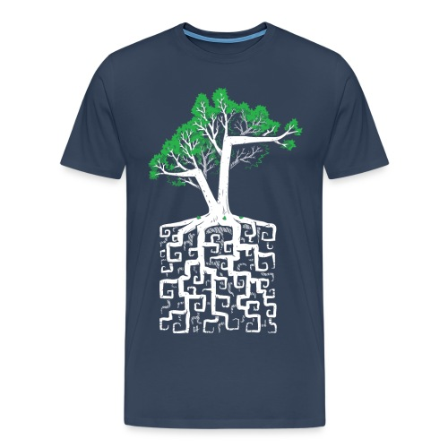 Square Root - Racine Carrée - Men's Premium T-Shirt