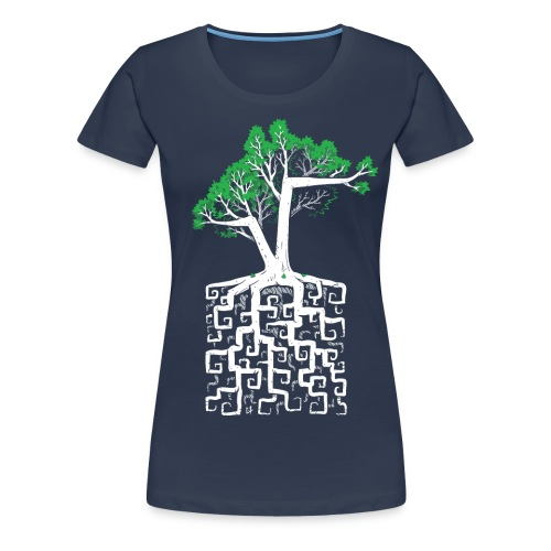 Square Root - Racine Carrée - Women's Premium T-Shirt