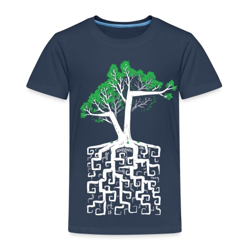 Square Root - Racine Carrée - Kids' Premium T-Shirt