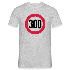 Speed limit 300 - T-shirt Homme