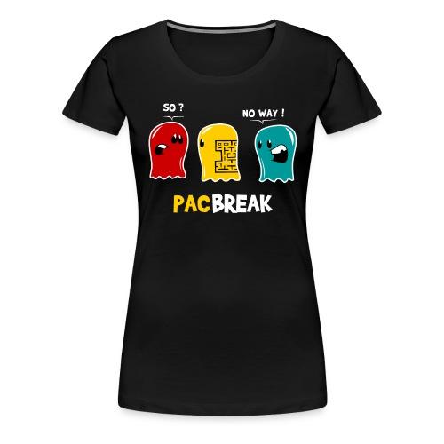 Break the maze Femme - T-shirt Premium Femme