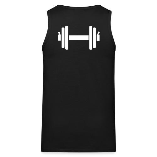 Shirt Dumbell - Mannen Premium tank top
