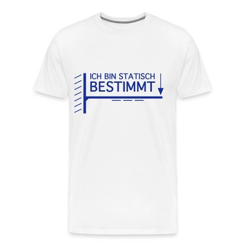 Statisch bestimmt - Männer Premium T-Shirt