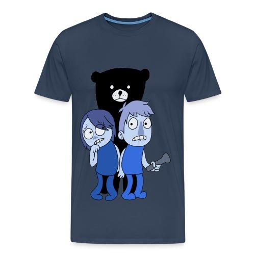 Björne - Premium-T-shirt herr