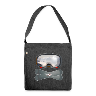 Taschen & Rucksäcke ~ Schultertasche aus Recycling-Material ~ snowBALL VIII bag
