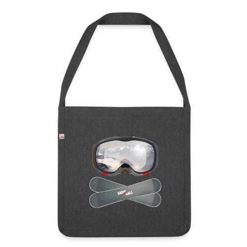 snowBALL VIII bag - Schultertasche aus Recycling-Material