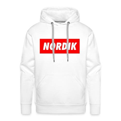 Männer Kapuzenpullover NORDIK - Männer Premium Hoodie