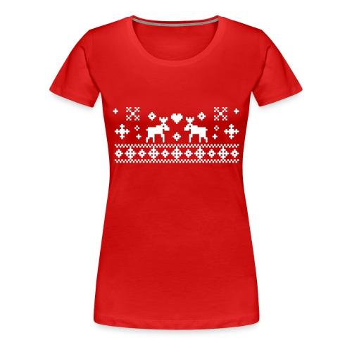 Rudolf in Love - Frauen Premium T-Shirt