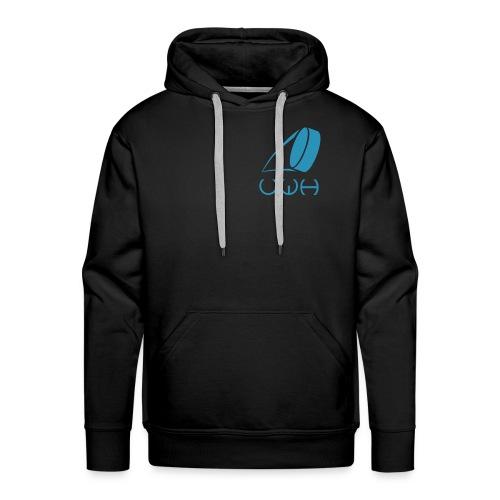 UWH Logo. Mens Hoodie - (LogoBlue - frt/sm) - Men's Premium Hoodie