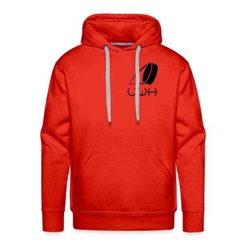 UWH Logo. Mens Hoodie - (LogoBlack - frt/sm) - Men's Premium Hoodie