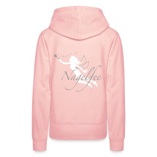 Luxus Hoody Nagelfee rosé - Frauen Premium Hoodie