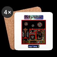Mugs & Drinkware ~ Coasters (set of 4) ~ Repton 1 - Mystic Moons