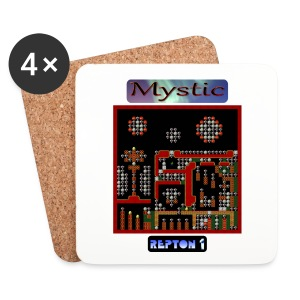 Repton 1 - Mystic Moons - Coasters (set of 4)