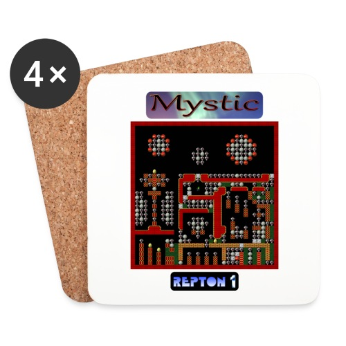 Repton 1 - Mystic Moons - Coasters (set of 4)