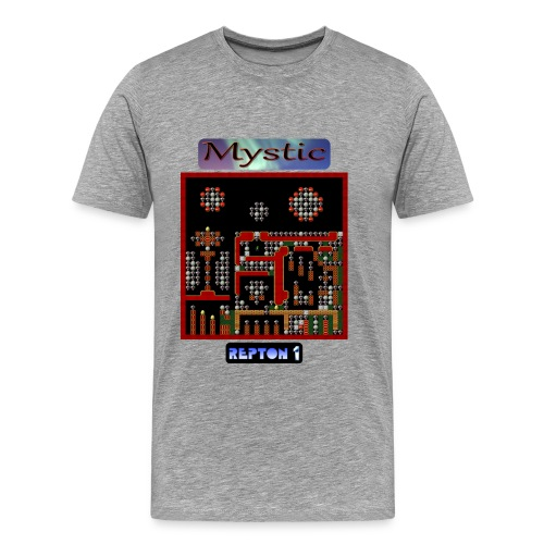 Repton 1 - Mystic Moons - Men's Premium T-Shirt