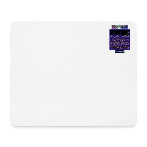 Repton 1 - On the Rooftop - Mouse Pad (horizontal)